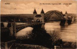 CPA AK Bonn- Die Rheinbrucke GERMANY (883833) - Bonn