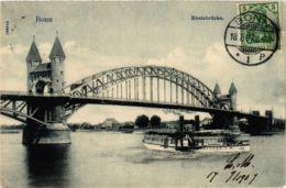 CPA AK Bonn- Rheinbrucke GERMANY (883847) - Bonn