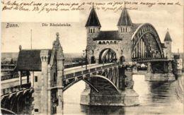 CPA AK Bonn- Die Rheinbrucke GERMANY (883856) - Bonn
