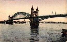 CPA AK Bonn- Rheinpartie Mit Segel Yachten GERMANY (883857) - Bonn