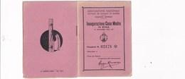 """TESSERA_TESSERE_DOCUMENTO/I-""""ASSOCIAZIONE NAZIONALE MUTILATI ED INVALIDI DI GUERRA"""" 1936- - Colecciones"""