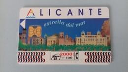 TELEFONICA   2000+100  ALICANTE - Espagne