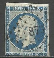 FRANCE - Oblitération Petits Chiffres LP 873 CLAIRVAUX-DU-JURA (Jura) - Marcofilie (losse Zegels)