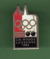 PETANQUE *** C.M. LAUSANE *** 1032 (10) - Pétanque