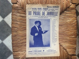 AU PHARE DE JOINVILLE *Georgius LE GARDIEN DE PHARE DE JOINVILLE-LE-PONT   Chanson Bouffe - Partituren