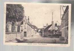 CP (89) Leugny - Route Nationale - Francia