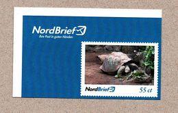 BRD - Privatpost Nordbrief - Schildkröte Testudo - Galápagos-Riesenschildkröte (Geochelone Nigra) - Tortues