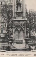 PARIS : Notre-dame : Jardin De L'archevéché - La Fontaine ( Par Viollet-le-duc ) - Notre Dame De Paris