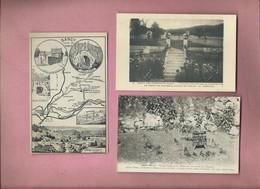 3 Cartes De :  Sancy Les Cheminots - Other Municipalities