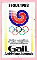 Sticker - SEOUL 1988 - Gail Architektur Keramik - Autocollants