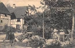 BAD HERRENALB ~ PLOTZSAGEMULE 1908 GEBR METS PHOTO POSTCARD 41163 - Bad Herrenalb