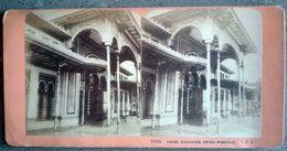 Photo Stéréo ARCACHON 33   Casino D' Arcachon, Entrée Principale  - XIXe - J.A. N° 1955 - Stereoscoop