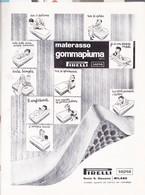 (pagine-pages)PUBBLICITA'  PIRELLI   Wagonlits1956/01. - Altri
