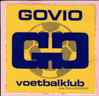 Sticker - GOVIO - Voetbalclub - Autocollants