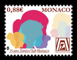 Monaco 2019 Mih. 3450 Zonta International MNH ** - Neufs