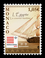 Monaco 2019 Mih. 3455 Monacophil 2019. Ship MNH ** - Neufs