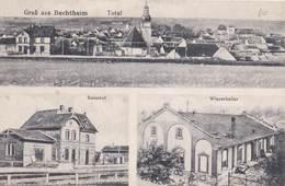 CPA :   Bechtheim (Allemagne Rhénanie)  Multivues Total Panorama,  Bahnhof , Winzerkeller   Ed Altherr - Allemagne