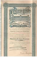 Action Ancienne - Palacio De Hielo Y Del Automovil De Madrid -Titre De 1922 - N° 7286 - Automobile