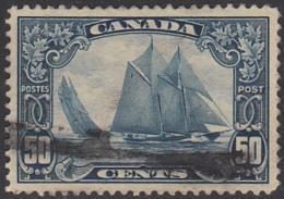 Canada 1928-29 Used Sc 158 50c Bluenose - Oblitérés