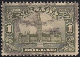 Canada 1928-29 Used Sc 159 $1 Parliament - Oblitérés