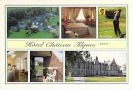 ** Lot De 2 Cartes ** 62 - ST OMER : Hotel CHATEAU TILQUES - CPM Grand Format - Pas De Calais - Saint Omer