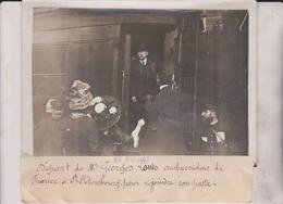 DEPART DE M GEORGE LOUIS AMBASSADEUR DE FRANCE A ST PETERSBOURG 18*13CM Maurice-Louis BRANGER PARÍS (1874-1950) - Personalidades Famosas