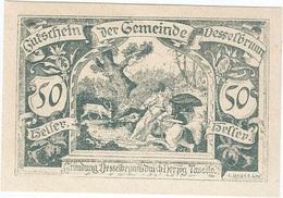 Austria (NOTGELD) 50 Heller 28-4-1920 Desselbrunn KON 119 A.3 UNC - Austria