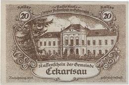 Austria (NOTGELD) 20 Heller 31-12-1920 Eckartsau KON 149 A.1 UNC - Austria