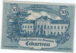 Austria (NOTGELD) 50 Heller 31-12-1920 Eckartsau KON 149 A.3 UNC - Austria