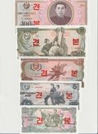 KOREA P. 18s/22s SET 1978 UNC - Korea (Nord-)