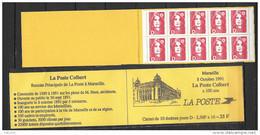 France 1991 Carnet N° C 2712-C1 Poste De Marseille - Booklets