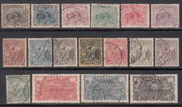 1904-07  Yvert Nº 49 / 65 - Usados