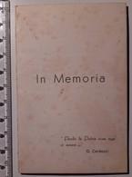 Militari - Luttino - Medaglia Al Valor Militare - Tenente Granatieri - El Alamein 1942 - In Memoria - Old Paper