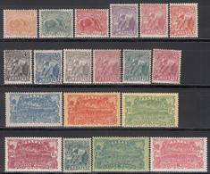 1922-28  Yvert Nº 75 / 90, 106 / 108 MH. - Nuevos