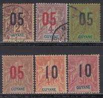 1922-28  Yvert Nº 66, 67, 68, 70, 71, 72, - Nuevos