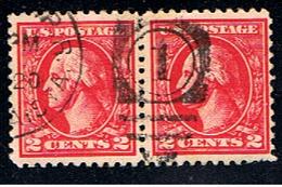 US 341 // YVERT 200 X 2 // 1916-19 - United States