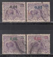 1922  Yvert Nº 91 / 94 - Usados