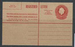 Christmas Island 1959 30c Registered Envelope Very Fine Unused - Christmas Island