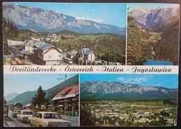 Staatsgrenze - Raiblsee Und Predilpass - Thorl Maglern - Wurzenpass - Dreilanderecke Osterreich, Italien, Jugoslawien Vg - Dogana