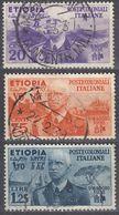 ETIOPIA -  Lotto Di 3 Valori Usati:  Yvert 2, 6 E 7, Come Da Immagine. - Aethiopien