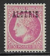 Algeria Scott # 201 MNH France Stamp Overprinted,, 1947 - Algeria (1924-1962)