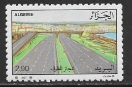 Algeria Scott # 858 MNH Transportation, 1987 - Algeria (1962-...)