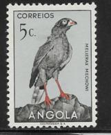 Angola Scott # 333 Mint Hinged Bird, 1951 - Angola