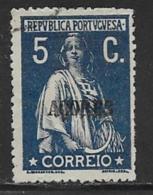Azores Scott # 169 Used Ceres, 1912 - Azores