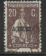 Azores Scott # 191 Used Ceres, 1920 - Azores