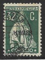 Azores Scott # 199 Used Ceres, 1925 - Azores