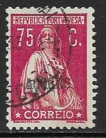 Azores Scott # 214 Used Ceres, 1930 - Azores