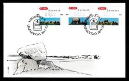 DENMARK 2007 FRAMA Prehistoric Monuments (Gummed): First Day Cover CANCELLED - Vignette Di Affrancatura (ATM/Frama)