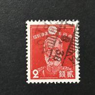 ◆◆◆Japan 1937  1st Showa Series  2 Sen  Used  AA4233 - 1926-89 Emperor Hirohito (Showa Era)
