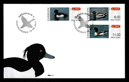 DENMARK 2011 FRAMA/Ducks: First Day Cover CANCELLED - Vignette Di Affrancatura (ATM/Frama)